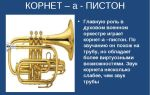 Корнет – краткая история героя духового оркестра