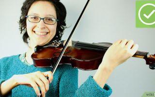 Как играть на скрипке основные техники игры