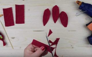 Как сделать тюльпаны из бумаги: мастер-класс