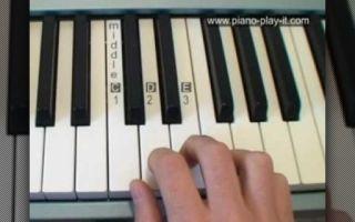 Разбор музыкального произведения по специальности