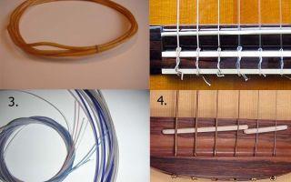А вы знаете, из чего делают струны