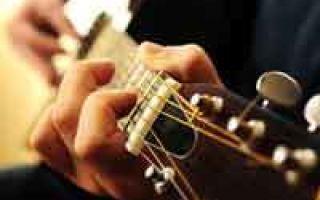 Виды переборов на гитаре, или как сыграть красивый аккомпанемент?