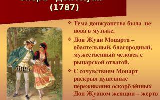 Опера моцарта «дон жуан» – сюжет, общий обзор