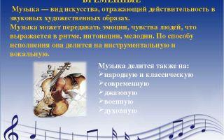 Виды музыкального творчества