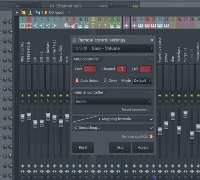 Знакомство с mixer в fl studio