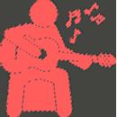 Простые пьесы для гитары для начинающих