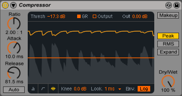 Ableton compressor —компрессируй @ уплотняй