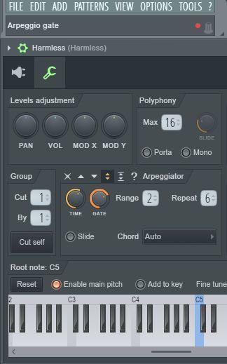 Ableton arpeggiator — генератор переливов
