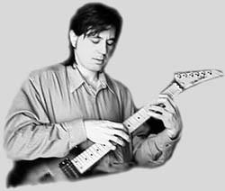 Нестандартные приемы игры на гитаре, различные техники