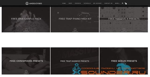 30 сайтов с бесплатными сэмплами