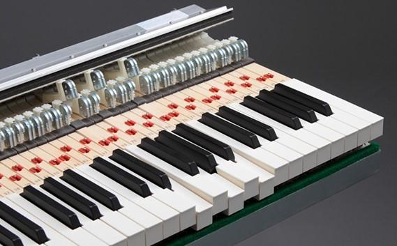 Как называются клавиши фортепиано