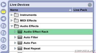 Настраиваем дефолтные пресеты audio effect-ов в ableton live
