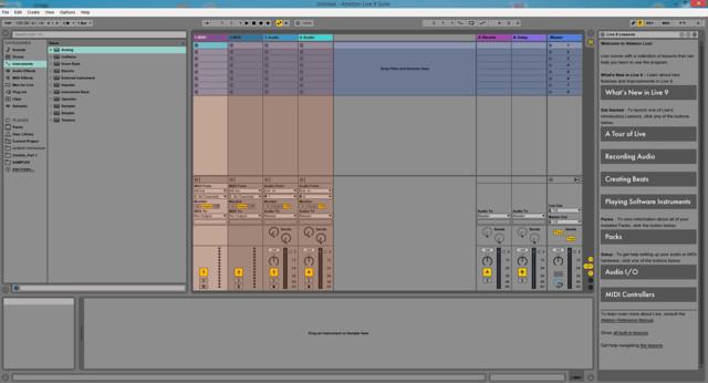 Подготовка треков для живого выступления с ableton