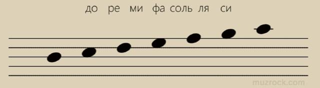 Изучаем ноты басового ключа