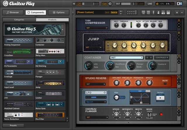 Amp и cabinet — гитарные девайсы в ableton live