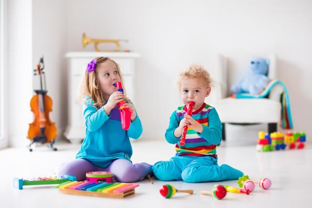 Развивающие музыкальные игры для детей