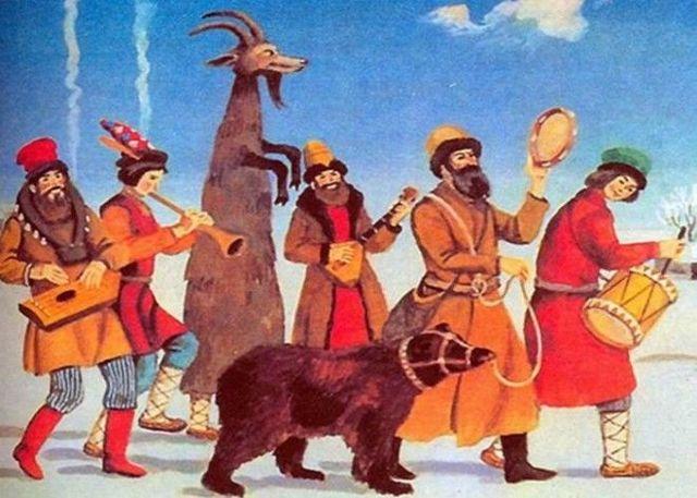 Скоморохи: история возникновения явления скоморошества и его музыкальные особенности.