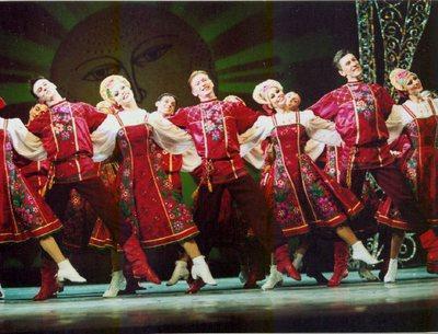 Виды русских народных танцев
