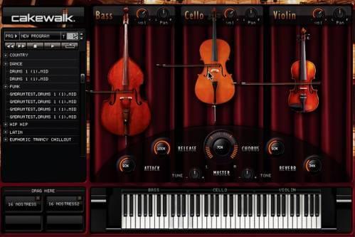 Струнные инструменты – vsti инструменты
