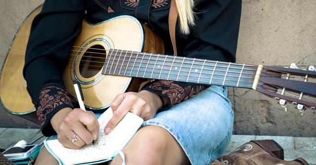 Как написать песню под гитару